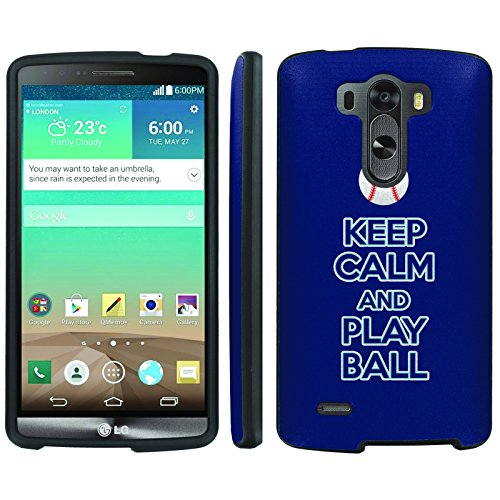 Mobiflare, Slim Guard Armor Design Case, for [LG G3] - Keep Calm and Play Ball - Tampa Bay