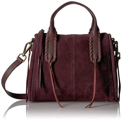 Lucky Nela Small Satchel, Eggplant
