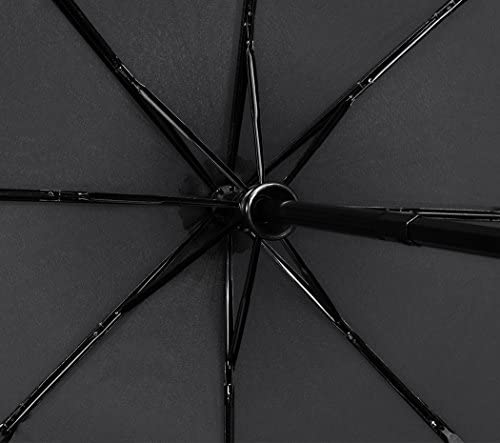 Raindrop Plemo Automatic Umbrellas Windproof Compact Folding Umbrellas with Anti-Slip Rubberized Grip for Business and Travels or Summer Wedding Gifts