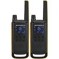 Motorola Talkabout T82 Extreme PMR446 2-Way Walkie Talkie Radio Twin Pack - Yellow/Black