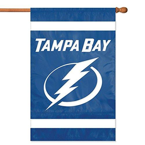 (NHL 2-Sided Appliqué Banner Flag , Tampa Bay Lightning)