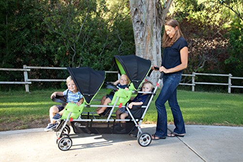 Joovy Big Caboose Stand-On Triple Stroller, Appletree in the UAE ...