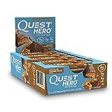 Quest Nutrition Suplemento de Proteínas, Chocolate con Caramelo y Nuez Pecana Hero, 600 g