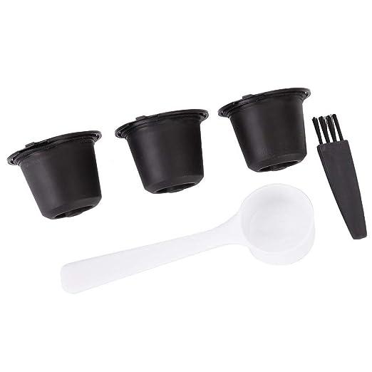 Fdit Taza de filtro de cápsulas de café reutilizables para el ...