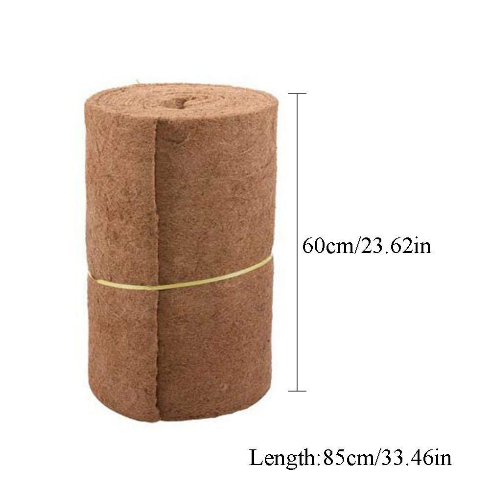 24 Wide x 33 Long Roll Supple vividesire Versatile Hanging Basket Liner Bulk Roll