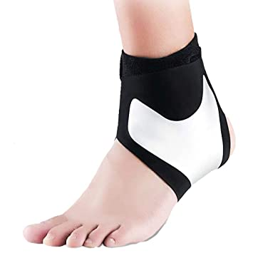 Bandage-Fußgelenk Fußbandage Sprunggelenk Stützbandage Knöchel Sport Verband M//L