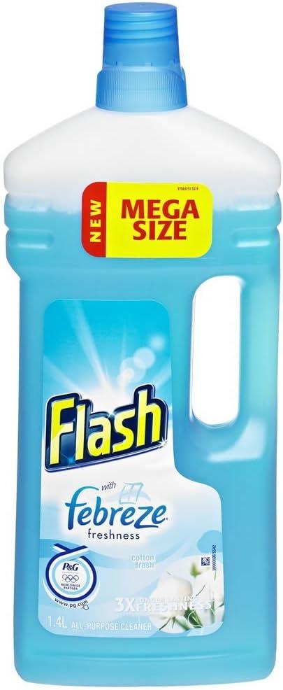 Flash ALL Purpose Cleaner algodón fresco 1.3 (Pack de 2): Amazon ...