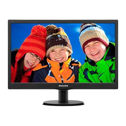 chollos oferta descuentos barato Philips 193V5LSB2 10 Monitor de 18 5 resolución 1366 x 768 Pixels tecnología WLED Contraste 700 1 5 ms VESA VGA sin Altavoces