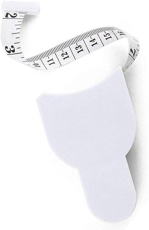 Dosige K/örpermassband Sportma/ßband Measuring Tape Fitnessma/ßband 150cm Wei/ß