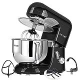 CHEFTRONIC Tilt-head Stand Mixers SM-986 120V/650W 5.5qt Bowl 6 Speed Kitchen Electric Mixer