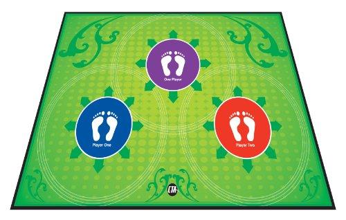 CTA Digital Play & Exercise Mat for Kids, Large, Green ()