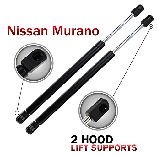 2pcs-6328-front-hood-gas-charged-lift-supports-shocks-struts-for-nissan-murano-2003-2004-2005-2006-2