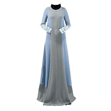 e2ab366dee5 Innerternet Robe Musulmane Femme Ete Vintage Femmes Abaya Long Maxi Dress  Arabe Robe Jilbab Musulman Tunique Pas Cher Grand Taille Robes  Amazon.fr   ...