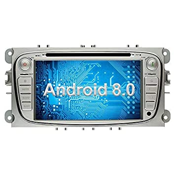 Ohok Android 8 0 Car Radio for Ford Mondeo Focus 2 Din