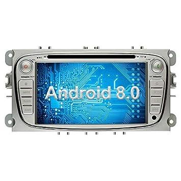 Ohok 2 DIN Android 8.0.0 Autoradio 7 Pulgadas Oreo Octa Core 4GB Ram 32GB