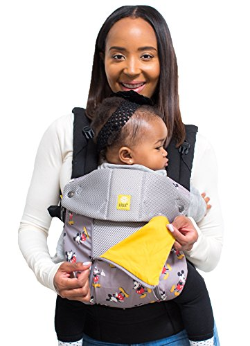 SIX-Position, 360° Ergonomic Baby & Child Carrier Disney Baby Collection by LILLEbaby – The Complete All Seasons (Mickey Classic)