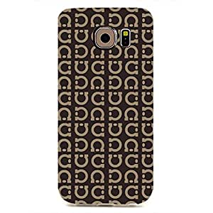 GIVENCHY Logo Back Cover For Samsung Galaxy S6edge 3D Hard Plastic Case
