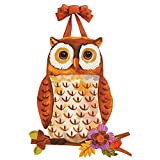 Studio M Fall Floral Owl Door Decor DD0107
