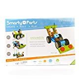 STEM TOYS, Smarty Parts Engineer Set, 125 piece Set by Blip Toys