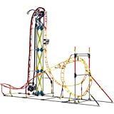 K'NEX Thrill Rides - Electric Inferno Roller Coaster Building Set - 639 Pieces - For Ages 9+ Engineering Education Toy