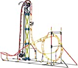 K'NEX Thrill Rides – Electric Inferno Roller Coaster Building Set – 639 Pieces – For Ages 9+ Engineering Education ...