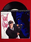DAVID BOWIE Tonight b/w Tumble And Twirl 45 rpm B 8246 Limited Edition Poster
