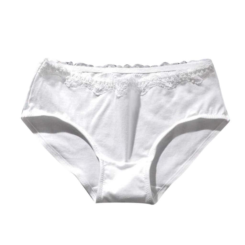 Luckycat Braga Tanga de Encaje para Mujer Bragas de Algodón para Mujer Encaje Sexy Braguita Bikini de Algodón Tanga cómodo Bragas Mujer Algodón Hipster ...