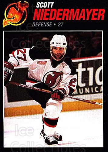 ((CI) Scott Niedermayer Hockey Card 1999-00 New Jersey Devils Team Issue 24 Scott Niedermayer)