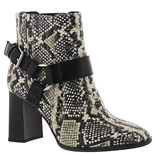 BCBGeneration Women's Agnes Harness Bootie Ankle Boot, Natural Snake, 8.5 M ()