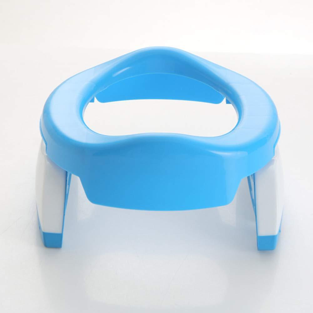 Toilettensitz Kinder Sunzit Faltbare T/öpfchentrainer Kinder WC Sitz f/ür Unterwegs Tragbar Reise WC Sitz Kleinkind T/öpfchentrainer und WC Sitzbez/üge