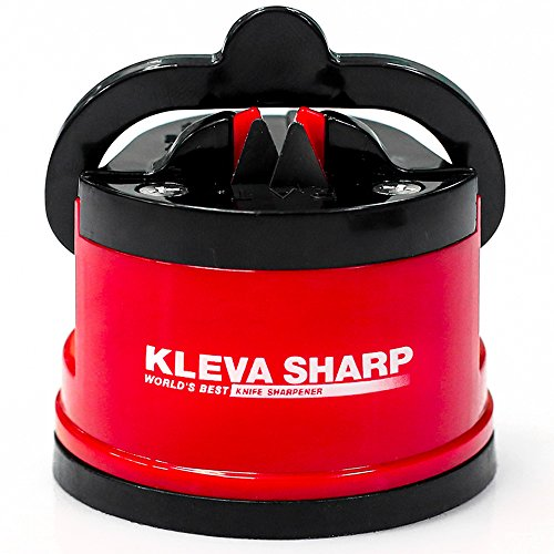 KLEVA SHARP NEW USA Patented Knife Sharpener - The quick way to sharpen knives in seconds - 100% Money Back Guarantee