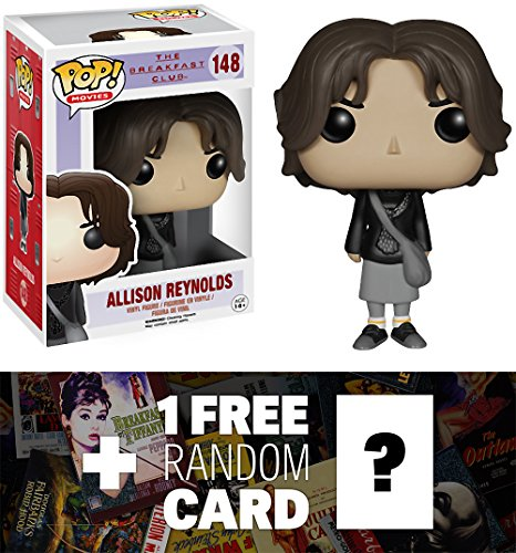 Allison Reynolds: Funko POP! x The Breakfast Club Vinyl Figure + 1 FREE Classic Movie Trading Card Bundle [47450]