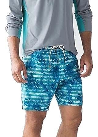 "Amazon.com : Lululemon Mens El Current Short Lined 9"" Swim"