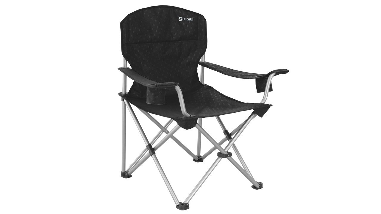 Outwell Catamarca Arm XL Camping Chair - Black 470048