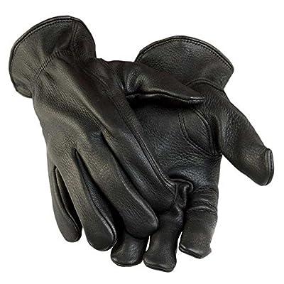 Northstar Men's Black Deerskin Gunn Cut Gloves (Unlined) 011B