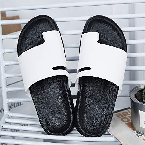 otoño ocasionales el de ocasionales de para Zapatillas convenientes de verano aire verano desgaste la cómodas al hombres primavera playa baño los del libre White del respirables del la Zapatillas de gwvvaRx