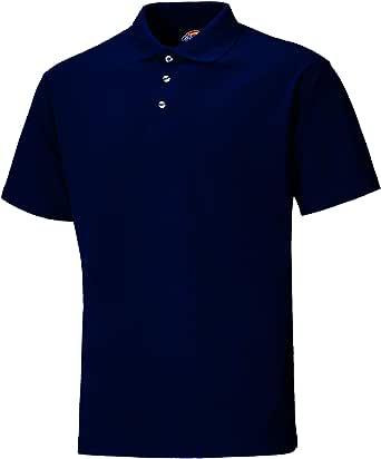 Dickies Mens Short Sleeve Button Polo Shirt