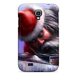 Brand New S4 Defender Case For Galaxy (coke Santa)