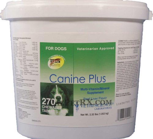 Canine Plus Economy Size Vitamins (270 Tablets)