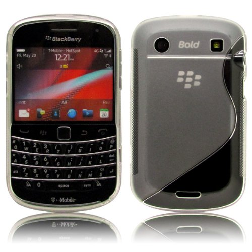 Cbus Wireless Clear S-Line TPU Flex-Gel Rubber Silicone Case / Skin / Cover for BlackBerry Bold Touch 9900 / 9930