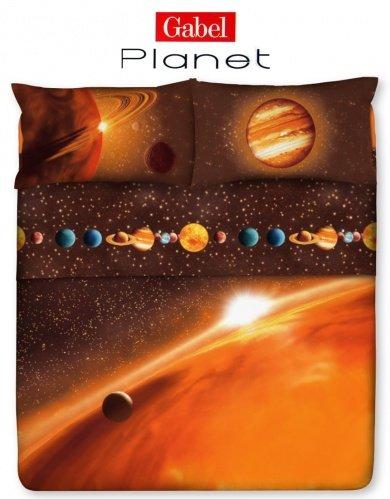 Lenzuola Una Piazza E Mezza Gabel.Gabel Planet Completo Lenzuolo Una Piazza E Mezza Gabel Planet