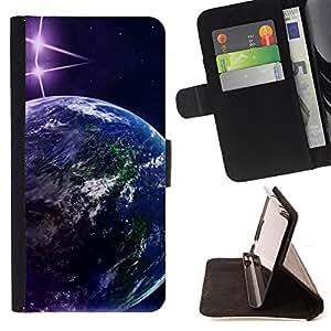 Jordan Colourful Shop - planets stars art space ship universe For Apple Iphone 6 - < Leather Case Absorci????n cubierta de la caja de alto impacto > -