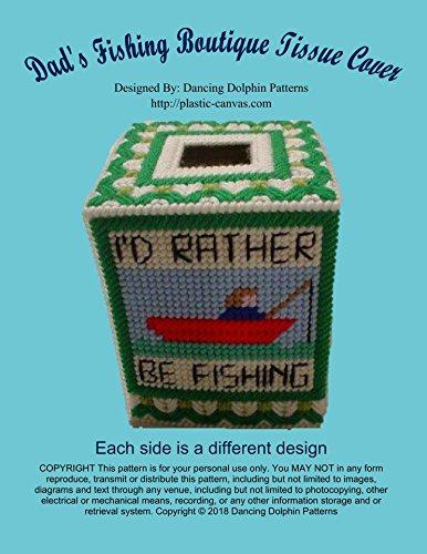 Dad's Fishing Boutique Tissue: Plastic Canvas ()