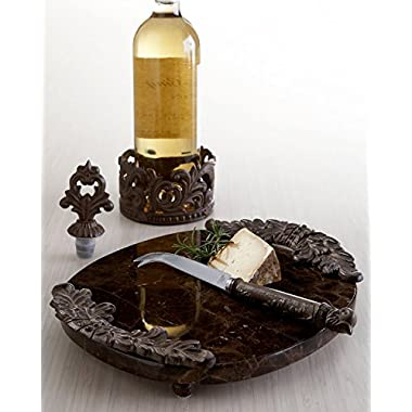 Wine Bottle Caddy & Stopper