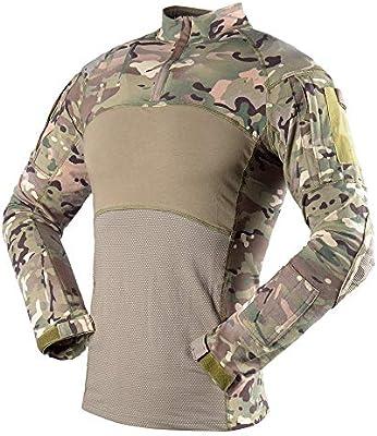 The Mercenary Company Next Gen Camisa de Combate de Manga Larga Tejida, XXL, Multicam: Amazon.es: Deportes y aire libre