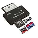All in One 1 Memory Card Reader USB External SD SDHC Mini Micro M2 MMC XD CF MS