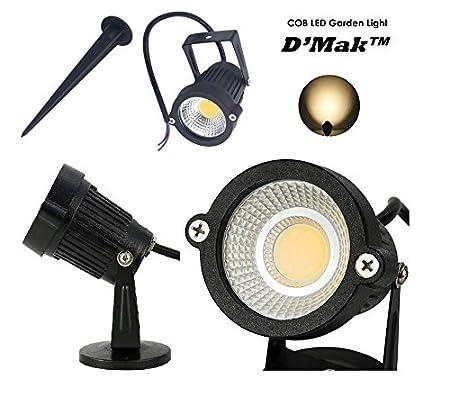D'Mak™ LED Outdoor Garden Spot and Spike 3W IP65, Green 3000K, with 1 Year Warranty, Aluminium Body (3Watt)   Garden Lights     3w Garden Light  