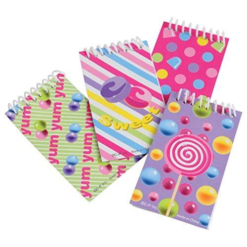 Candy Notebooks (Purple Themed Candy Buffet)