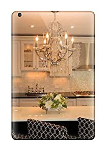 Cute Tpu DebAA Traditional Kitchen With Chandelier Over Large Island With Seating Case Cover For Ipad Mini/mini 2