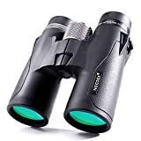 NOCOEX Optics 10×42 Compact Binoculars for Adults Bird Watching Waterproof Fully Multi Coated Lens Lightweight and Small Size for Travel and Outdoor Activities For Sale